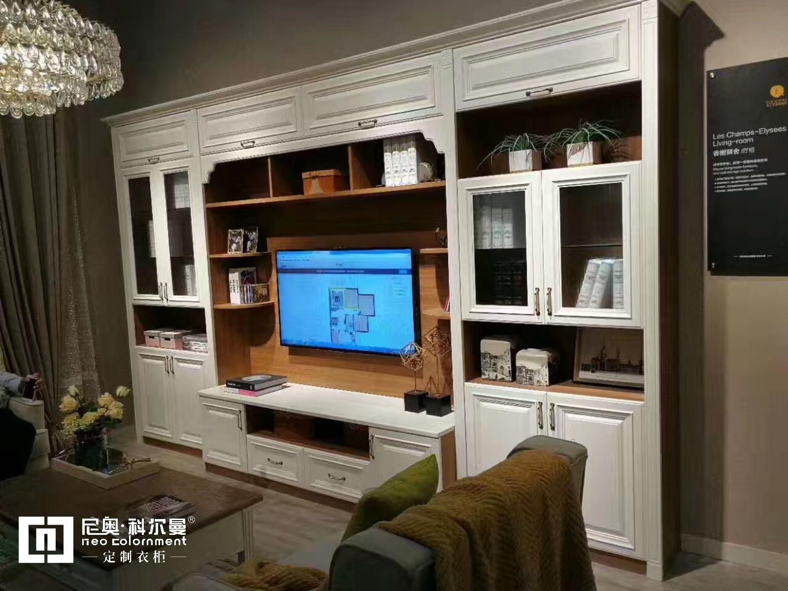 尼奧·科爾曼  包覆膜系列定制電視柜