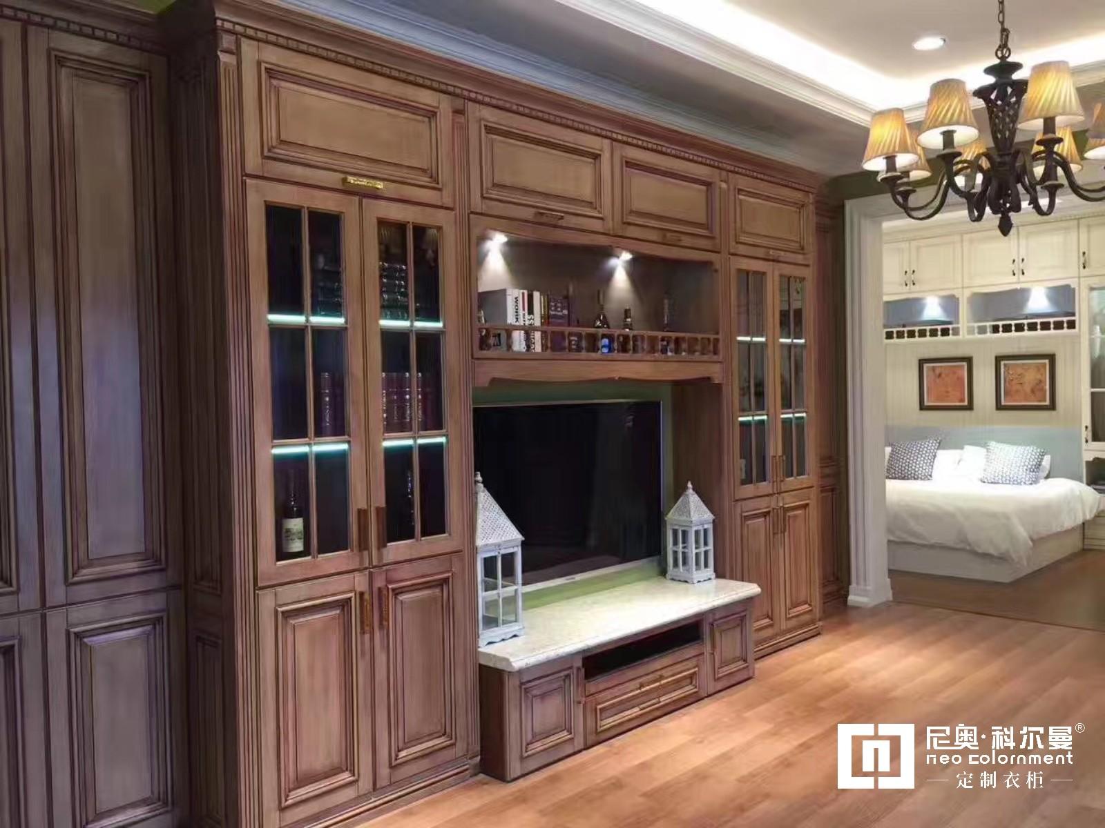 尼奧·科爾曼  高端實木定制電視柜