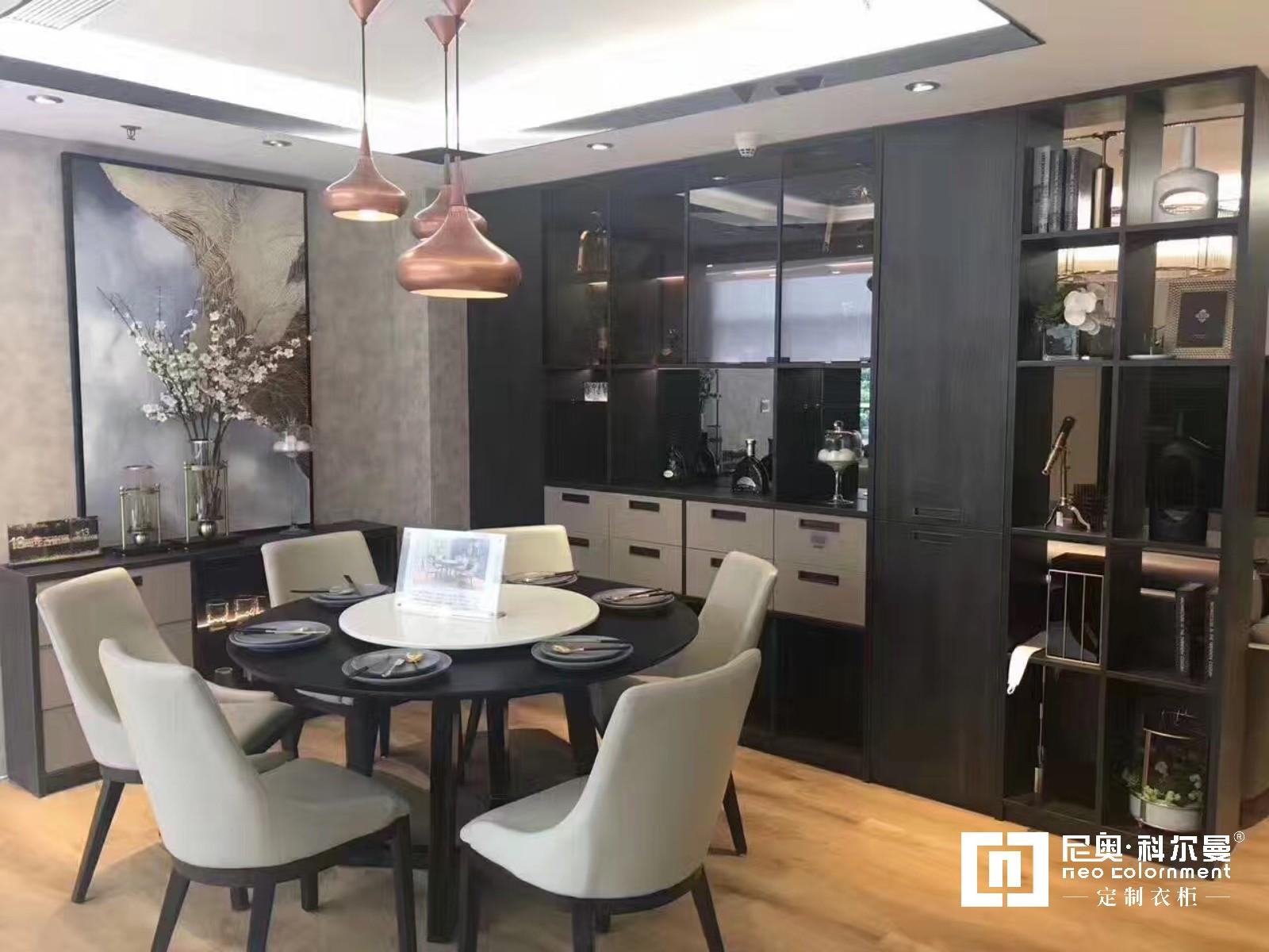 尼奥·科尔曼  欧式现代定制餐厅柜